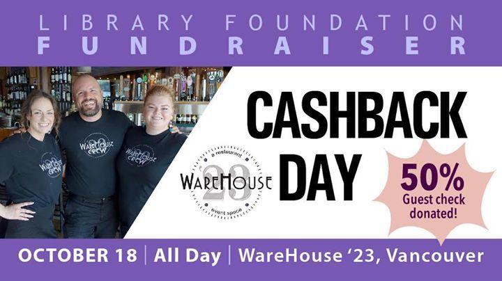 WareHouse 23 Cashback Day