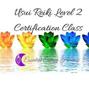 Usui Reiki Level 2 Certification Class