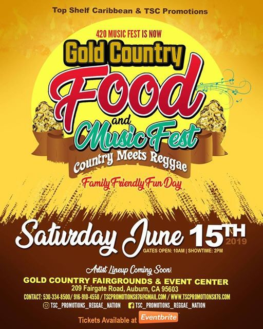 Gold Country Food & Music Fest - Country Meets Reggae