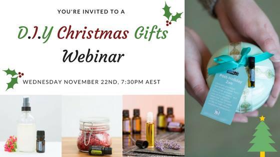 diy christmas gifts webinar