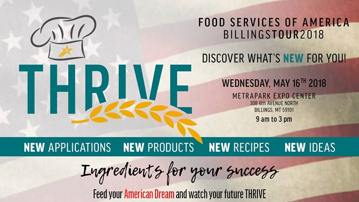 Food Services Of America Thrive 2018 Customer Expo Billings Tour At