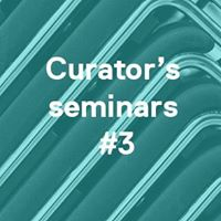 Curators seminars 3 Andy Field Ricardo Carmona