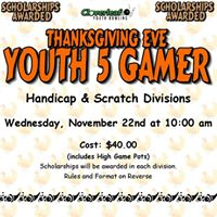 Thanksgiving Eve Youth 5 Gamer