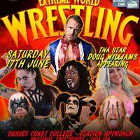 Extreme World Wrestling returns to Hastings. Live pro wrestling