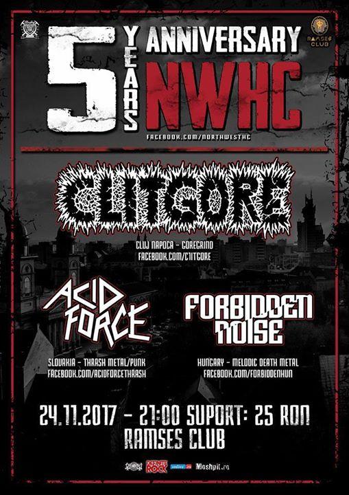 Clitgore Acid Force Forbidden Noise bilete limitate (100)
