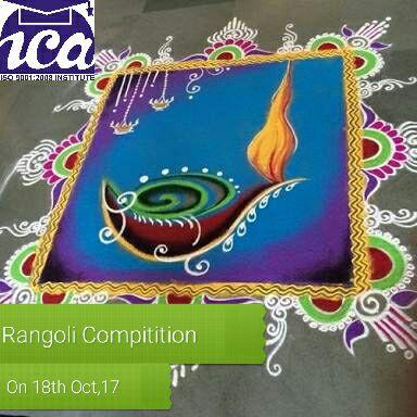Fill The Colors - RANGOLI