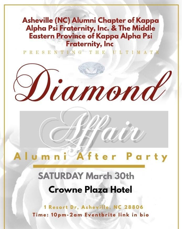 The Diamond Affair Official Alumni After Party