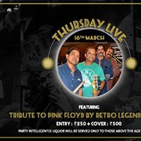 Tribute to Pink Floyd by Retro Legendary Act - Thursday Live