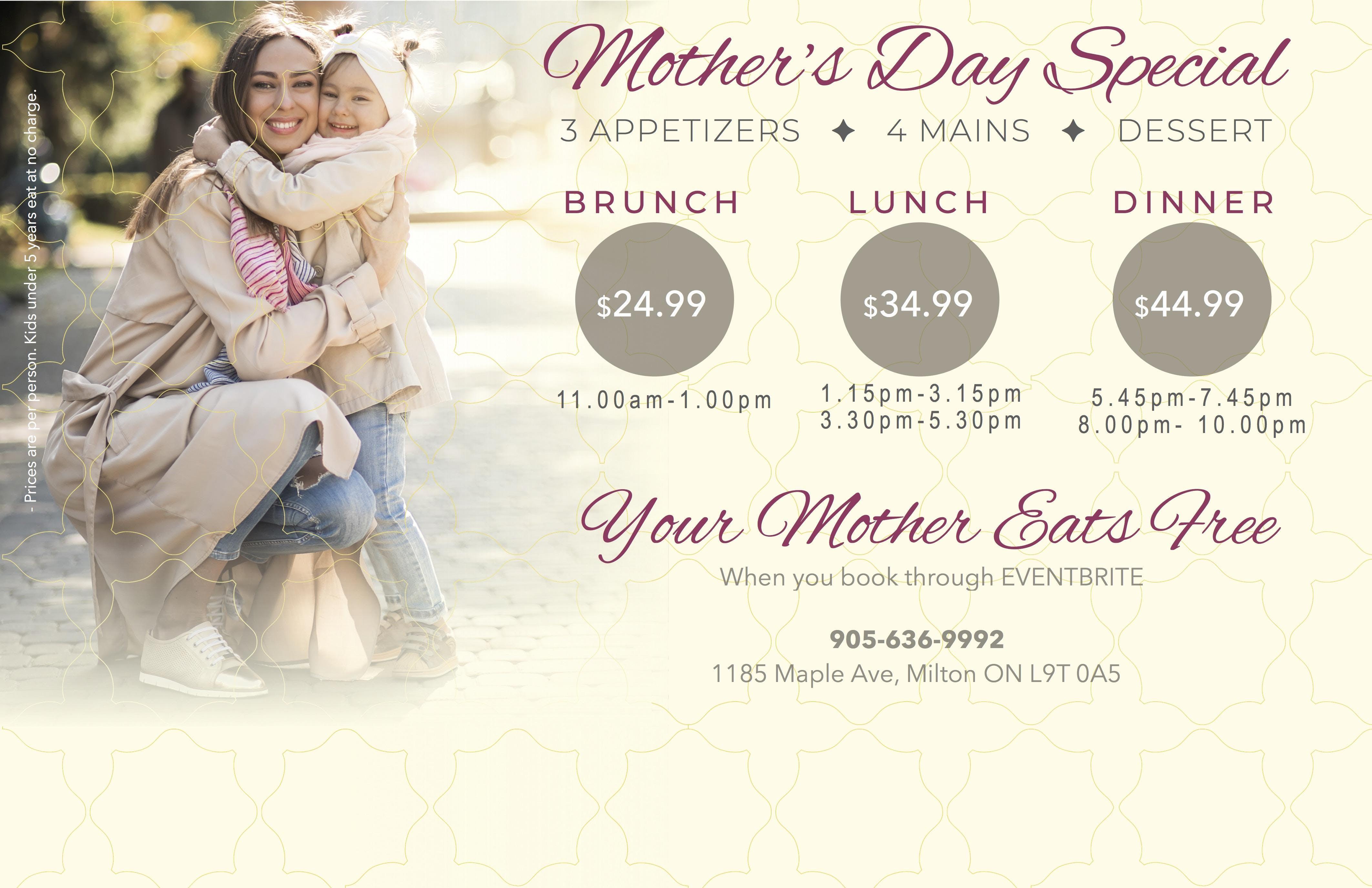Mothers Day at Milton - Khazana | Milton