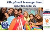 Small Business Saturday Scavenger Hunt