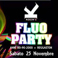 FLUO Party anni 80-90-2000  Reggaeton Kogins  Sab 25 Nov