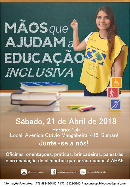 Mos que Ajudam a Educao Inclusiva