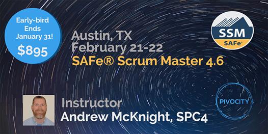 SAFe Scrum Master (SSM) Certification Course