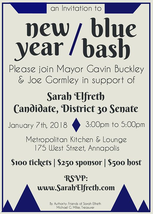 new year blue bash fundraiser in support of sarah elfreth