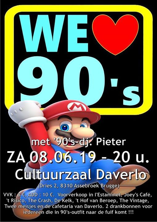 We love the 90s party 2019