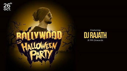 Bollywood Halloween Party with DJ Rajath