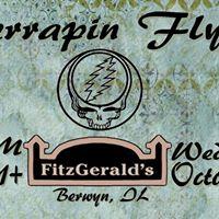 Terrapin Flyer at FitzGeralds Nightclub