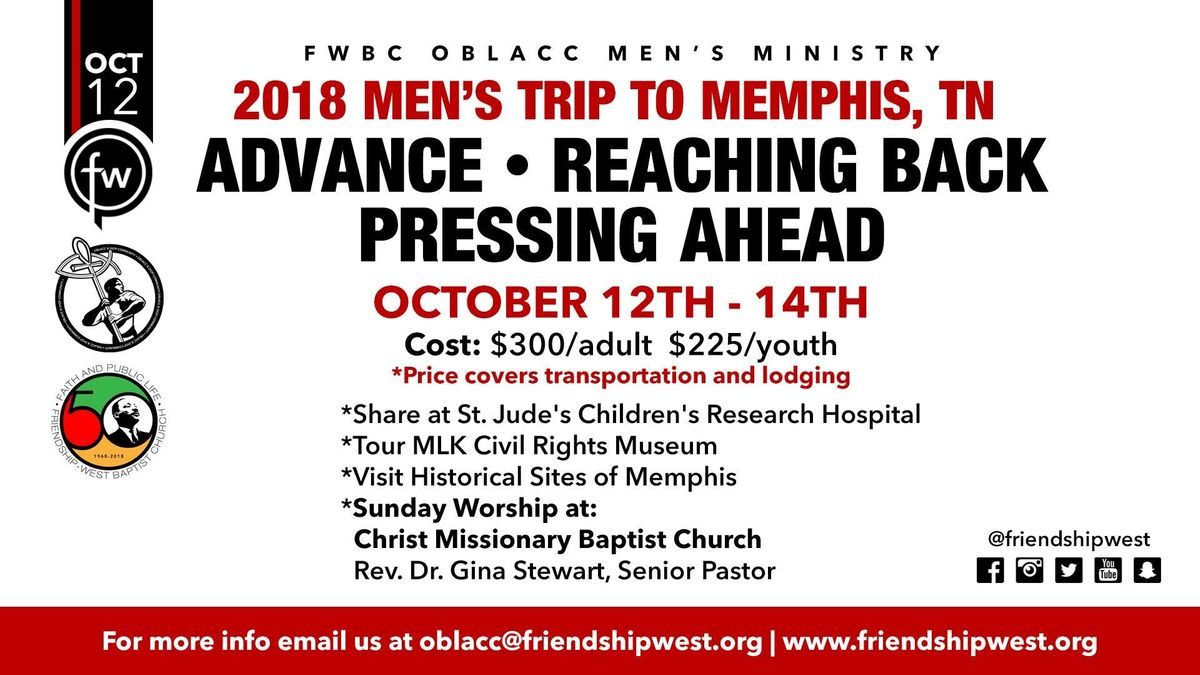 OBLACC Advance-Reaching Back - Pressing Ahead