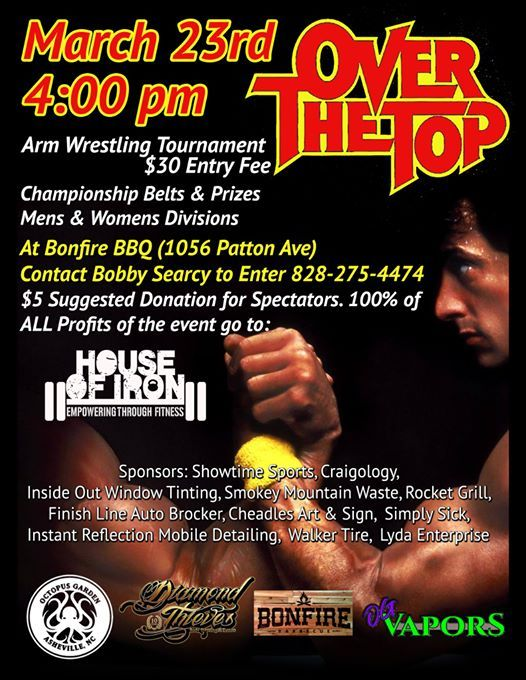 Over the Top Arm Wrestling Tournament