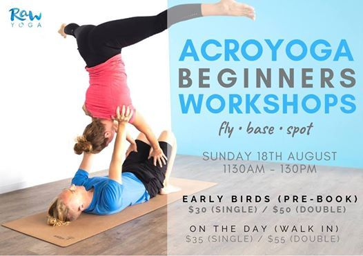 Acro Yoga  Beginners Workshop