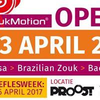 Open Dag ZoukMotion - gratis workshops Salsa Bachata &amp Zouk