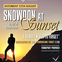 Snowdon at Sunset