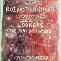 ROZ and the RICE CAKES album release show (PVD)