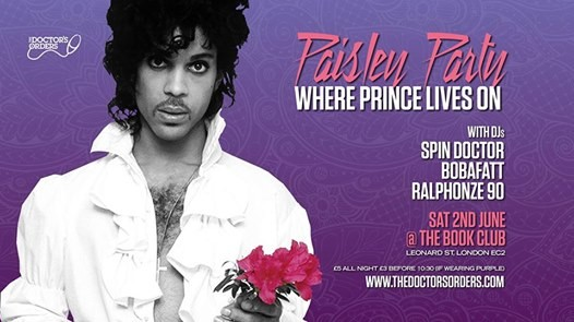 Paisley Party - Where Prince Lives On