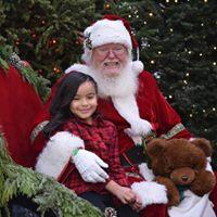 Nicks Food Drive with Santa and Reindeer