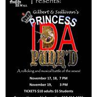 Gilbert &amp Sullivans Princess Ida Nov 17 18 19