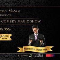 Psychological comedy magic show