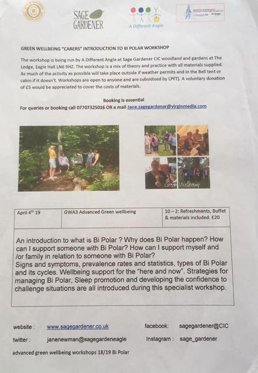 Introduction to Bi-polar workshop