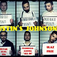 Petak 31.3 Justins Johnson  Subota 1.4 The ShakersRiver pub