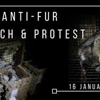 Anti-Fur March and Protest 16th January 2018