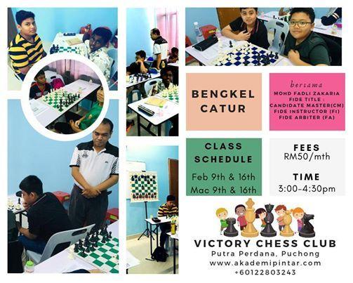 Bengkel Catur Victory CHESS CLUB