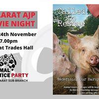 Called to Rescue Movie Night Presented by AJP Ballarat