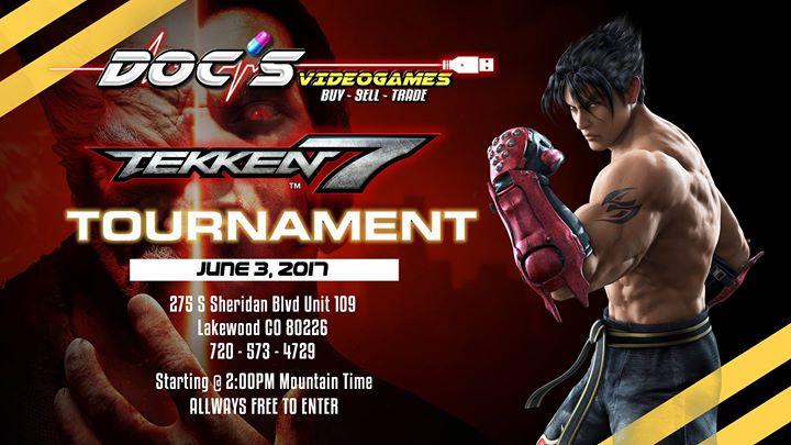 Tekken Tournament At Docs Video Games Collective Aurora - Doc's video games