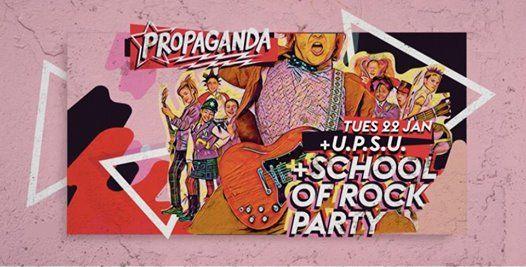 School Of Rock Party  Propaganda Plymouth