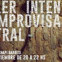 Taller de Improvisacin Teatral - coordinado por Chapi Barresi