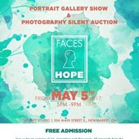 Faces of Hope - Portrait Gallery &amp Photography Silent Auction