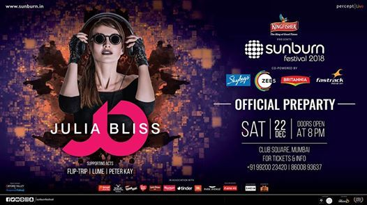 Sunburn Festival Pre Party with Julia bliss