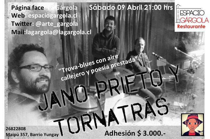 Jano Prieto y Tornatrs en Espacio Grgola