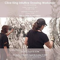Clive King Intuitive Drawing Class