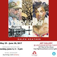 People &amp Places Here &amp There by Ralph Heather
