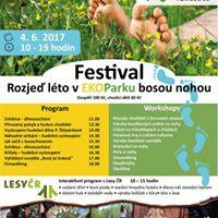 Festival rozje lto v EKOParku bosou nohou