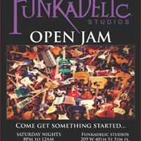 Open Jam at Funkadelic Studios