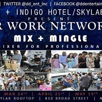 After Work Networking Mix  Mingle  Skylab Rooftop