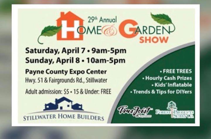 2018 HOME & GARDEN SHOW at Payne County Expo Center, Stillwater