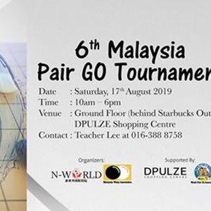 6th Malaysia Pair Go Tournament