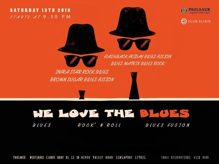 Special Blues Night by Paulaner  Clark Quay